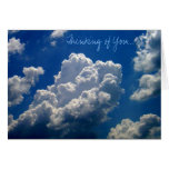 'Thinking of You' photo notecard Cards