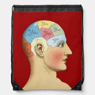 Thinking of You Drawstring Bag