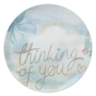 Thinking of you plate