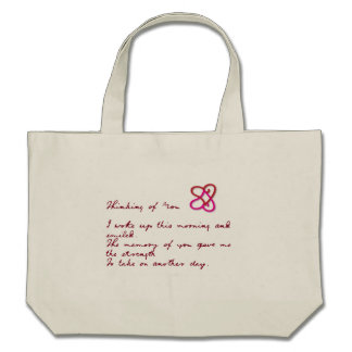 Thinking of You Poem Bag