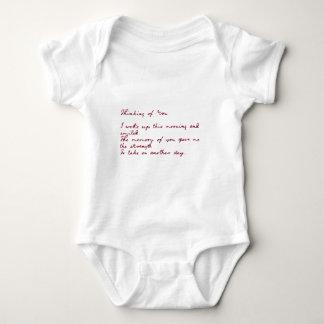 Thinking Of You Poem Infant Creeper