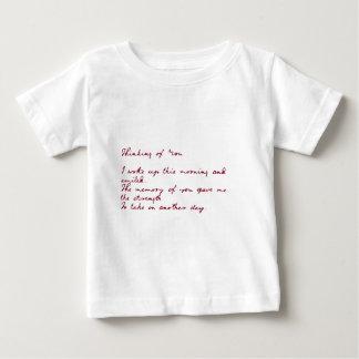 Thinking Of You Poem Shirt
