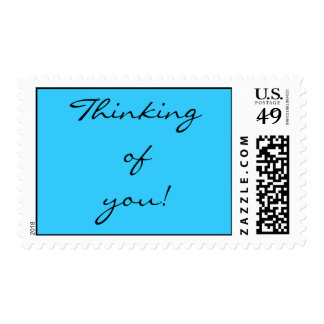 """Thinking of You"" Postage"