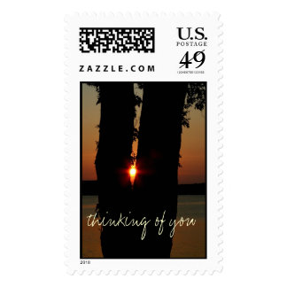 thinking of you postage stamps