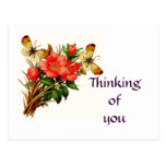 'Thinking of you' Postcard