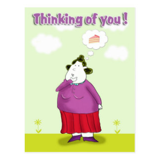 thinking of you_ postcard