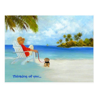""" Thinking of you..."" Postcard"