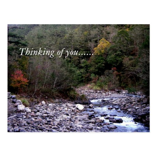 Thinking of you...... post card