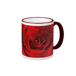 Thinking of You Ringer Coffee Mug