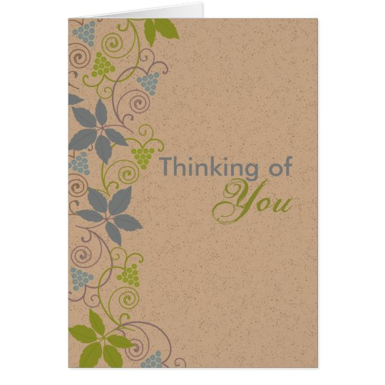 Thinking of You - Romantic Birthday Card