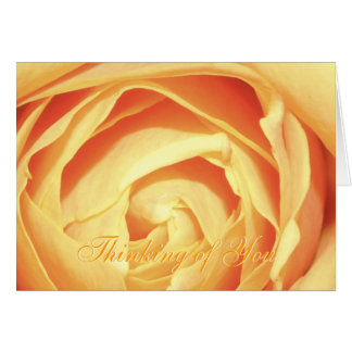 Thinking of You - Rose Card