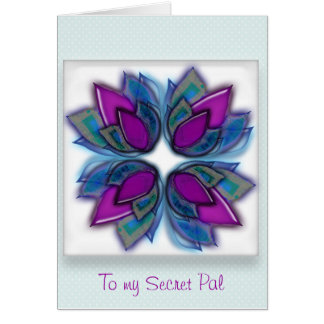 Thinking of you Secret Pal Card