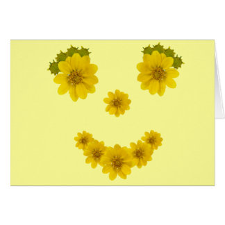 Thinking of You Smile Greeting Card