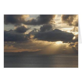 Thinking of You Sunset Card