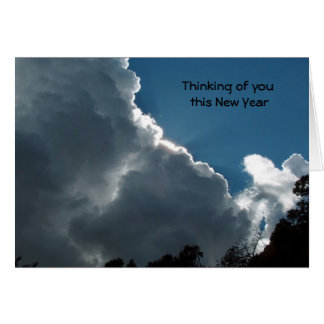 Thinking of you this New Year Card