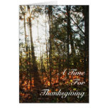 Thinking of You This Thanksgiving Greeting Card