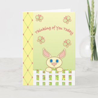 Thinking of You Today - Card card