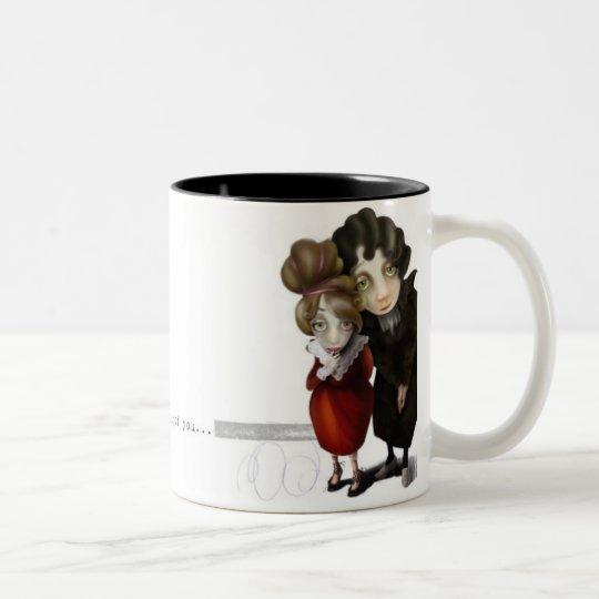 Thinking of you... Two-Tone coffee mug