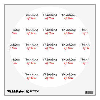 Thinking of You Wall Sticker