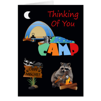 Thinking Of You While You're Away At Summer Camp Card