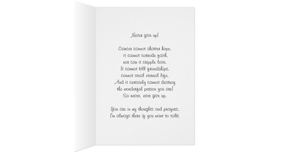 thinking of you  with love  cancer encouragement  card