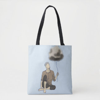 Thinking Out Cloud Tote Bag