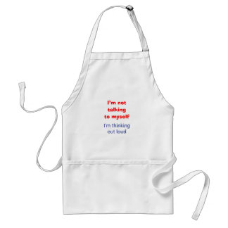 Thinking Out Loud Aprons