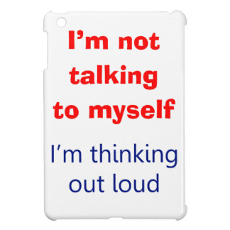 Thinking Out Loud iPad Mini Cases