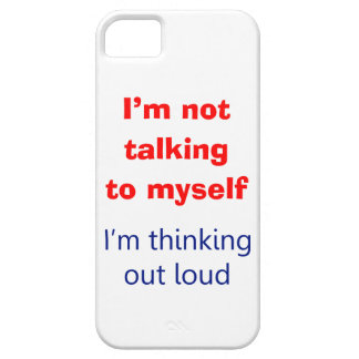 Thinking Out Loud iPhone 5 Cover