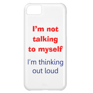 Thinking Out Loud iPhone 5C Cover