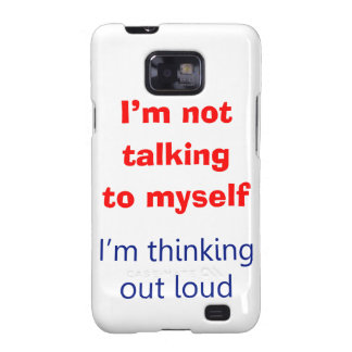Thinking Out Loud Samsung Galaxy S2 Cover