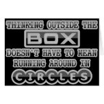 Thinking Outside the Box Card