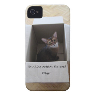 Thinking Outside the Box Case-Mate iPhone 4 Cases