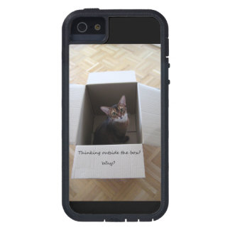 Thinking Outside the Box iPhone 5 Cover