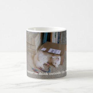 Thinking Outside the Box Coffee Mug
