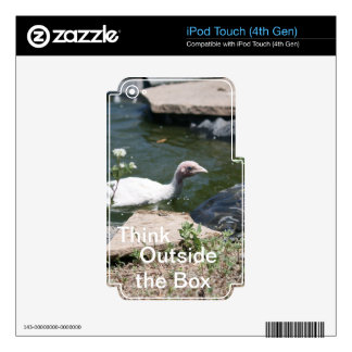 Thinking Outside the Box Decal For iPod Touch 4G