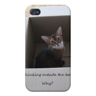 Thinking Outside the Box iPhone 4/4S Covers