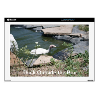Thinking Outside the Box Laptop Skins