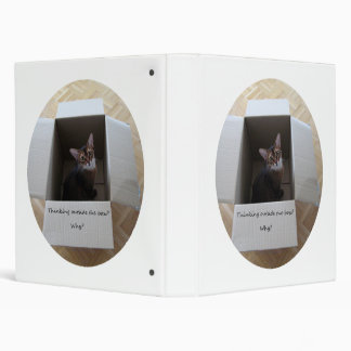 Thinking Outside the Box oval Binder