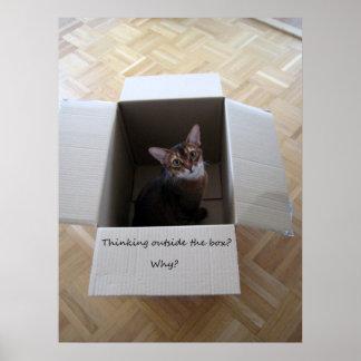 Thinking Outside the Box Print