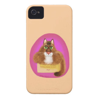 Thinking Outside the Box - Why? iPhone 4 Case-Mate Cases
