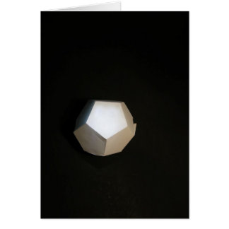 Thinking outside the Dodecahedron Card