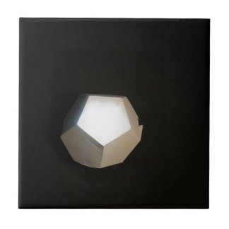 Thinking outside the Dodecahedron Ceramic Tile