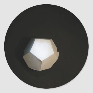Thinking outside the Dodecahedron Classic Round Sticker