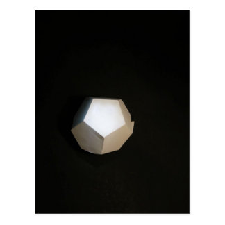 Thinking outside the Dodecahedron Postcard