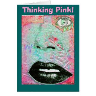Thinking Pink! Card