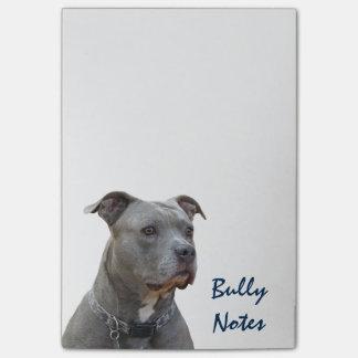 Thinking Pitbull Bully Notes