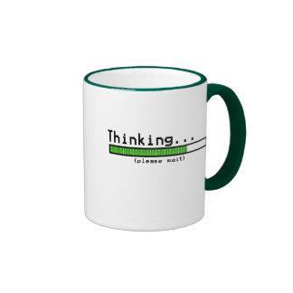 Thinking Please Wait Coffee Mug