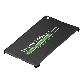 thinking please wait iPad mini cases