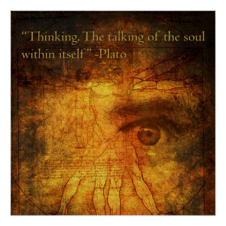Thinking Poster